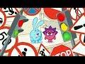Азбука безопасности Сборник все серии Смешарики 2D Обучающие мультфильмы mp3