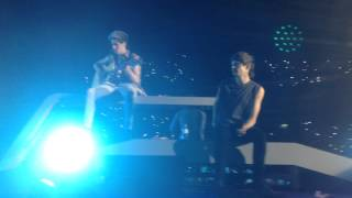 One Direction (Niall + Louis) - Little Things | WWAT Portugal (13/07/14)