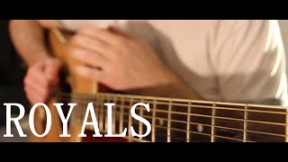 Lorde - Royals (fingerstyle guitar cover by Peter Gergely) [WITH TABS]