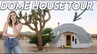 """A Look Inside This Insane """"tiny House"""" Dome Airbnb"""