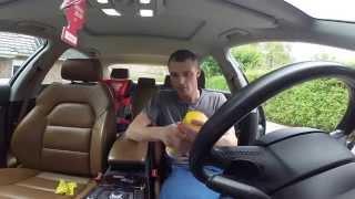 Попытка почистить кожаные сидений(Уход за салоном моего автомобиля Химчистка Кожи и панели., 2015-07-25T19:56:56.000Z)
