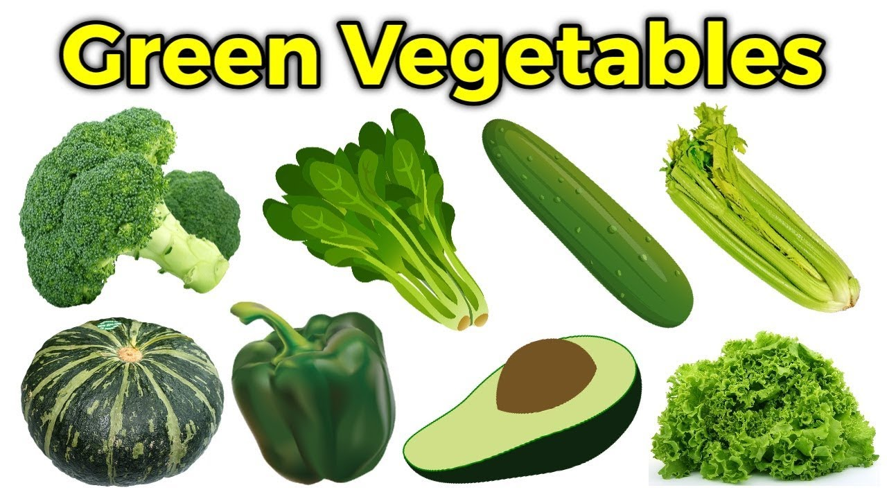Learn Names Of Fruits And Vegetables In English Green Vegetables Name Kids Learn Abcd