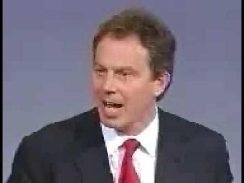 UK General Election 1997 - Tony Blair