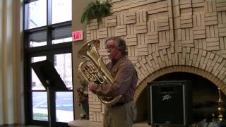 The Yellow Rose of Texas Variations by Lewis J. Buckley, played by David Bjornstad, euphonium