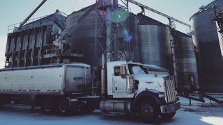 Hauling corn to the Ethanol Plant