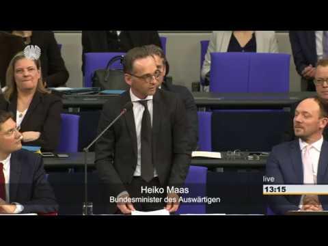 Bundestag: Befragung der Bundesregierung