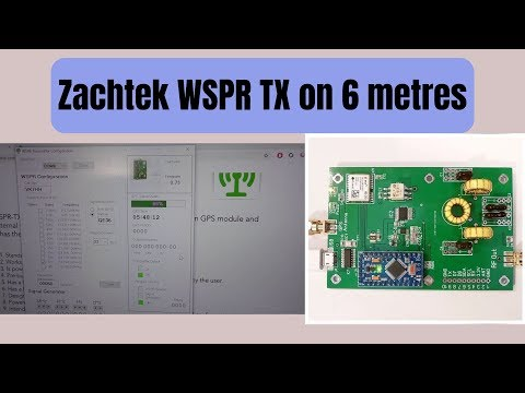 YouTube video. WSPR on 6m by Hayden - VK7HH