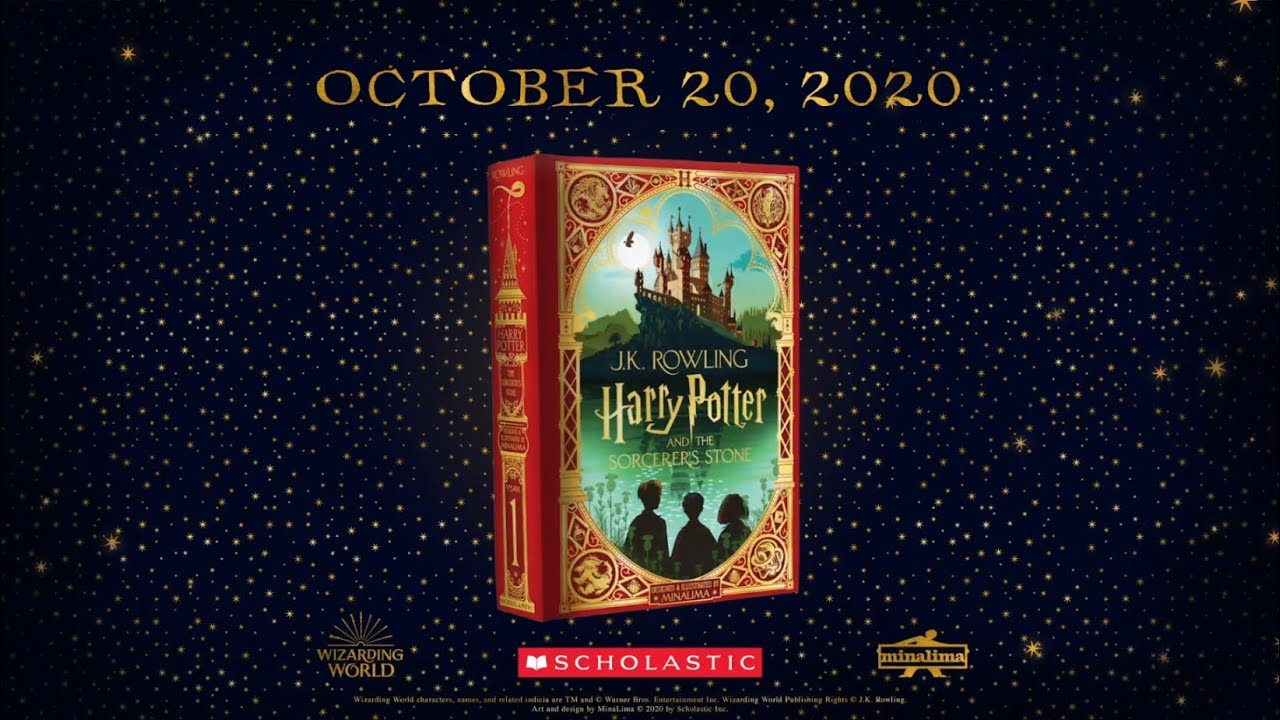 Harry Potter And The Sorcerer S Stone Minalima Edition Animated Book Trailer Youtube