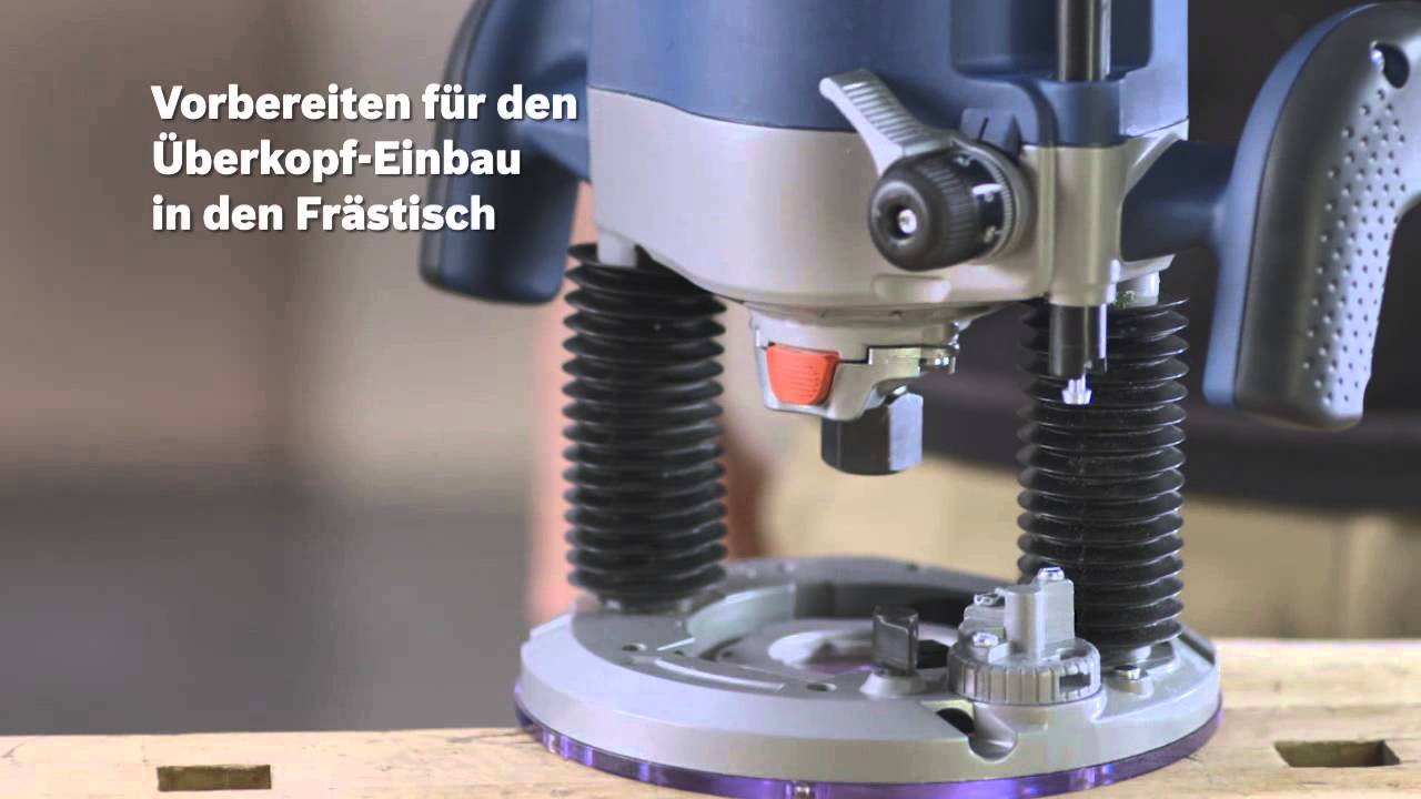 Bosch Präzisionstauchfräse Gof 2000 Ce Professional Youtube