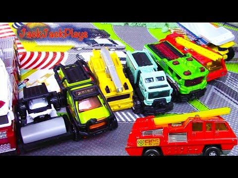 Toy Trucks for Kids Compilation: Matchbox Trucks Toys Unboxing