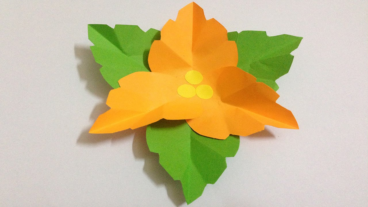 Easy Origami Lotus Flower Tutorial - DIY - Paper Kawaii - YouTube | 720x1280