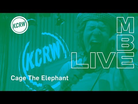 "Cage The Elephant Performing ""House Of Glass"" Live On KCRW"