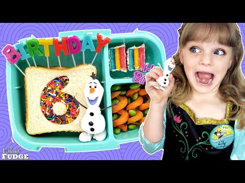 School Lunch TAKEOVER! 🎂 Lily's Birthday Lunch - Bunches of Lunches Lunch Videos