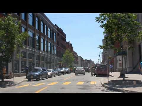 Sherbrooke Centre-Ville | Rue Wellington du Nord au Sud (jusqu'au Granada) | Québec, Canada