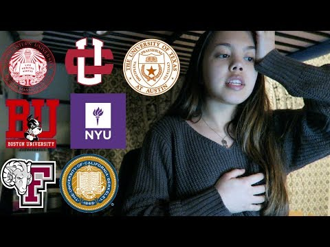 COLLEGE DECISIONS REACTION 2018 (NYU, UC Berkeley, Northeastern, UChicago, BU & More)