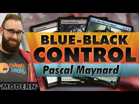 Blue-Black Jace Control - Modern | Channel Pascal
