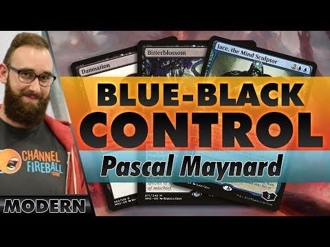 Blue-Black Jace Control - Modern | Channel Pascal