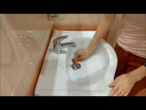 Как очистить раковину от известкового налета в домашних условиях