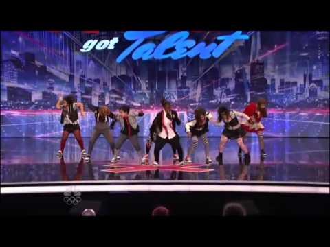 America's Got Talent - Elements Dance Cru