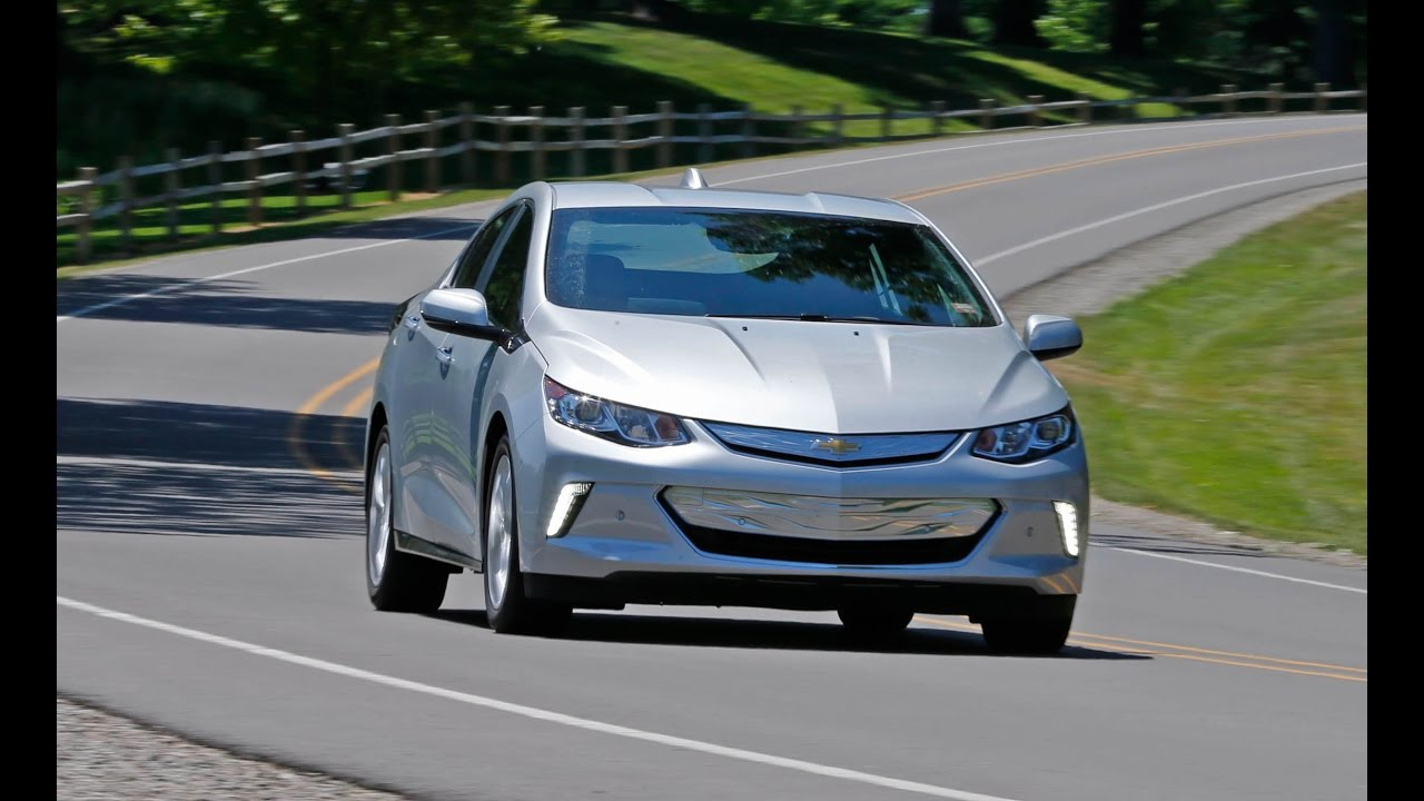 First Drive 2017 Chevrolet Volt Premier Top Speed - YouTube