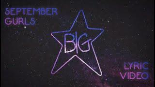 Big Star - September Gurls (Official Lyric Video)