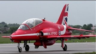 RAF Red Arrows Visit Cambridge Airport | 22nd September 2018