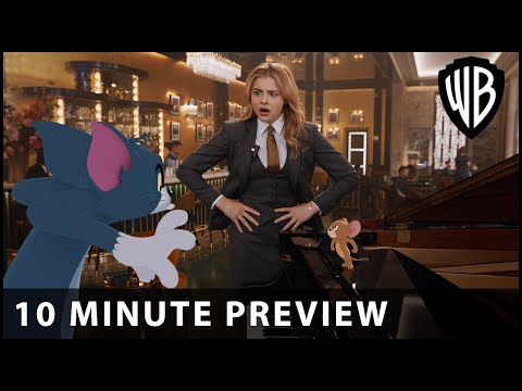 Tom & Jerry The Movie - 10 Minute Preview - Warner Bros. UK