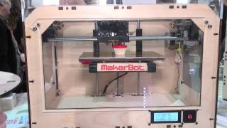 Makerbot Replicator home 3D printer at CES 2012- Which? first look