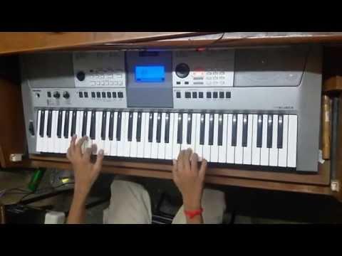 titan watches theme on piano