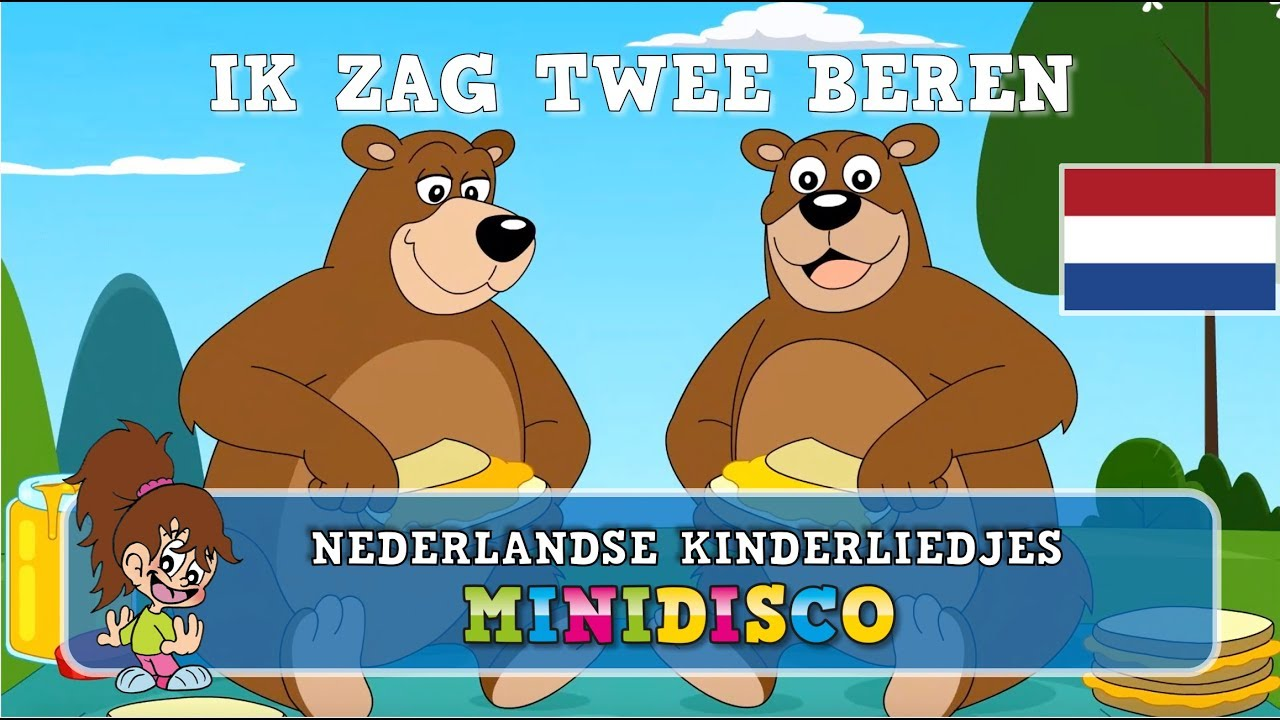 Download Kinderliedjes   Tekenfilm   IK ZAG TWEE BEREN   Minidisco   DD Company