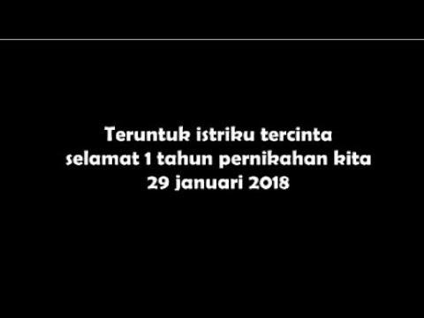 Happy Anniversary Video Ucapan Ulang Tahun Pernikahan Romantis