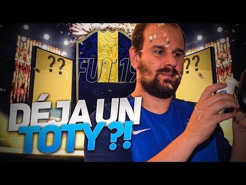 FIFA 19 - DEJA NOTRE 1ER TOTY ??? ON RÉCUPÈRE NOTRE 1ERE ICONE  !!!