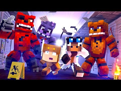 Minecraft Daycare  ESCAPE FIVE NIGHTS AT FREDDYS MONSTERS! MINECRAFT ROLEPLAY