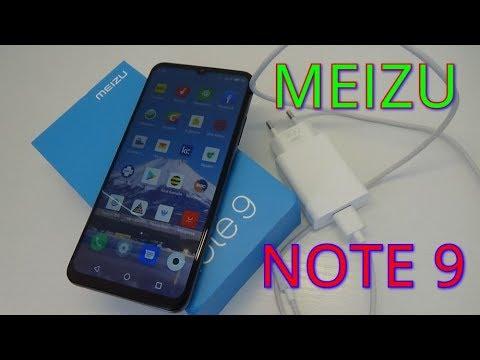 MEIZU NOTE9 смартфон (отзыв реального пользователя).