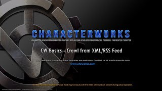 CW Basics - Crawl from XML/RSS Feed / Broadcast Graphics
