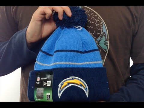 a9c8e0ef556 Chargers  2014 THANKGIVING DAY  Knit Beanie Hat by New Era - YouTube