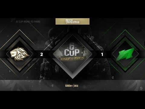 Rainbow Six 6CUP qualifier - REQUIEM VS LUCKY7