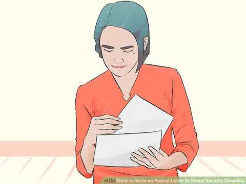 How to Write an Appeal Letter to Social Security Disability