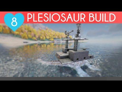 BEST PLESIOSAUR BUILD | Ark Survival Evolved | Unofficial PvP Server, Episode 8