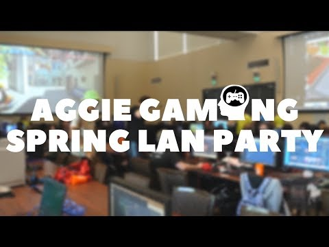 Aggie Gaming Spring LAN 2018