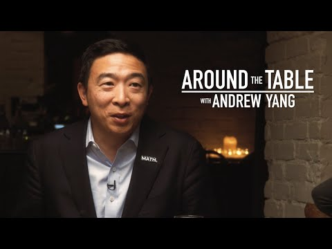 Andrew Yang Talks Stereotypes, Economic Policies At Dinner With Voters L ABC News