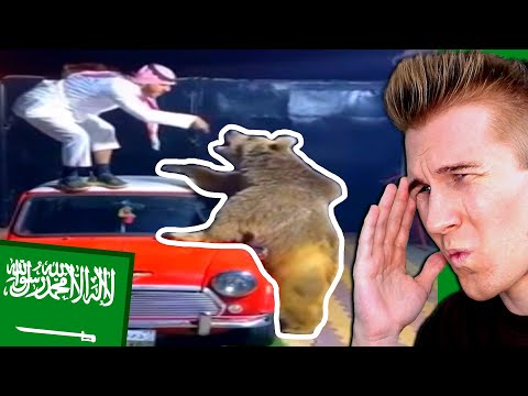 """American Reacts to """"A Normal Day in SAUDI ARABIA?!"""""""