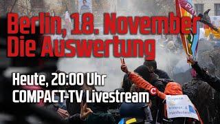 Berlin, 18. November Die Auswertung
