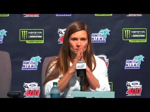 Danica Patrick breaks down while discussing future