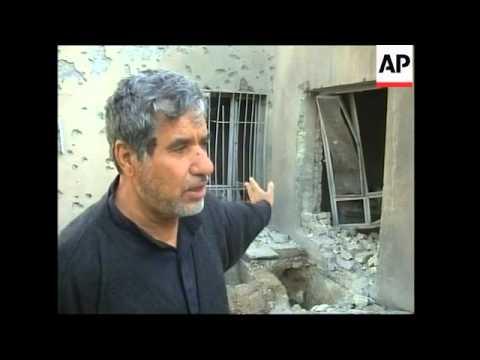 Baghdad rocket, Kirkuk pipeline fire