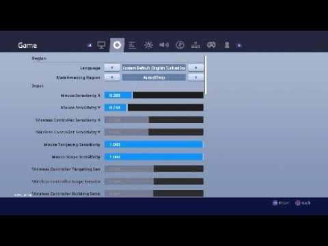 How to enable cross platform play fortnite chapter 2 ps4 ...