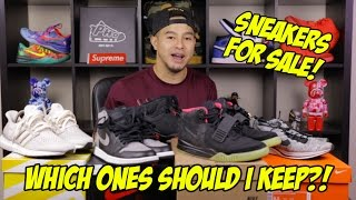 SNEAKER COLLECTION: SHOULD I KEEP OR SWEEP THEM?!