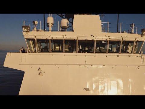 UPDATE: USCGC Stone (WMSL 758) Underway for First Patrol