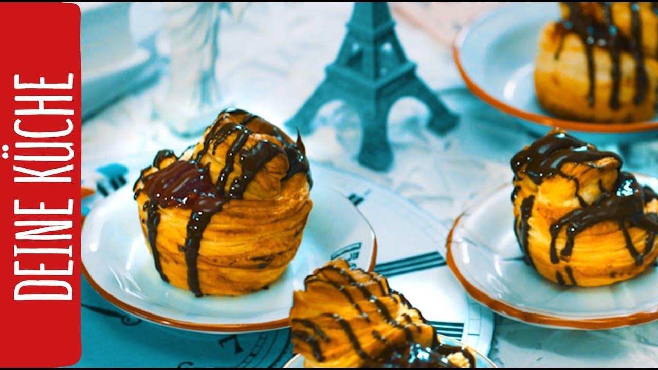 Cruffin Mit Süßer Marmeladenfüllung Rewe Deine Küche