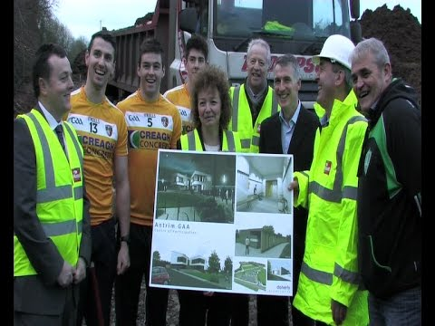 Minister cuts first sod at GAA centre of excellence